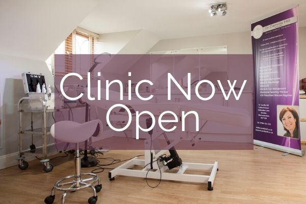 Dr Camilla Hill | Facial Aesthetic Clinic Now Open